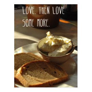 Love bread postcard