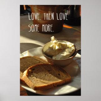 Love bread poster