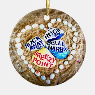 LOVE Breezy Point. Rockaways. Ceramic Ornament