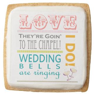 Love Bridal Shower Cookies