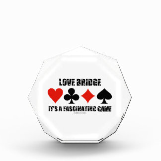 Love Bridge It's A Fascinating Game (Card Suits) Award