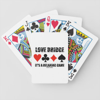 Love Bridge It's A Relaxing Game (Four Card Suits)