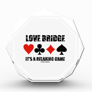 Love Bridge It's A Relaxing Game (Four Card Suits) Award