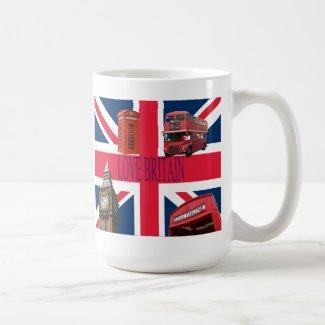 LOVE BRITAIN mug