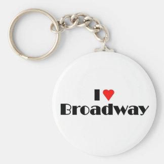Love Broadway Keychain