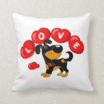 Love (Bubba) Throw Pillow