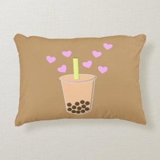 Love Bubble Tea Accent Pillow