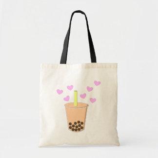 Love Bubble Tea Tote Bag