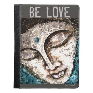 Love Buddha Watercolor Art iPad Kindle Cover