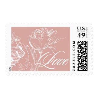 Love Budding B by Ceci New York Stamp