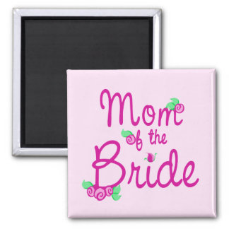 Love Buds/ Wedding 2 Inch Square Magnet