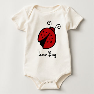 Love Bug baby   Baby Bodysuit