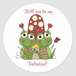 Love Bug: Be My Valentine Stickers
