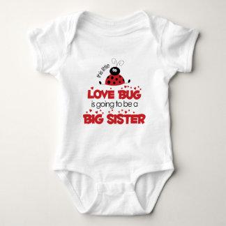 Love Bug Big Sister T-shirt