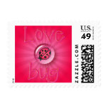 LOVE BUG BUBBLE by SHARON SHARPE Postage