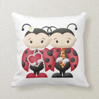Love Bug Couple 1 - Pillow