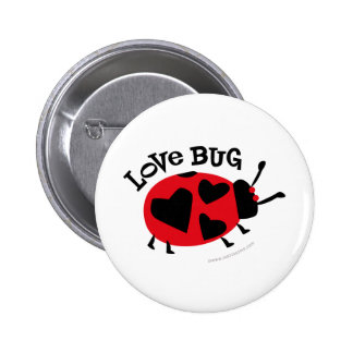 Love Bug Gifts Button