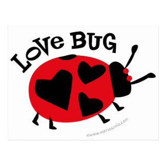 Love Bug Gifts Post Cards