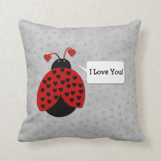 Love Bug I Love You Pillow