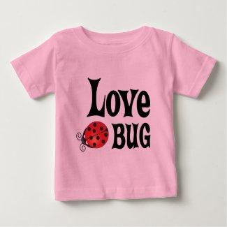 Love Bug - Ladybug Baby T-Shirt