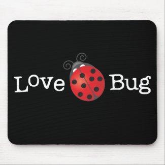 Love Bug - Ladybug mousepad