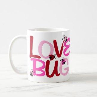 Love Bug Ladybug Mug mug