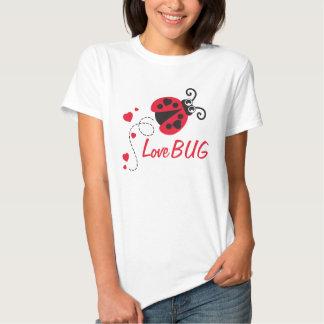 Love bug ladybug red t-shirt