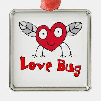Love Bug Metal Ornament