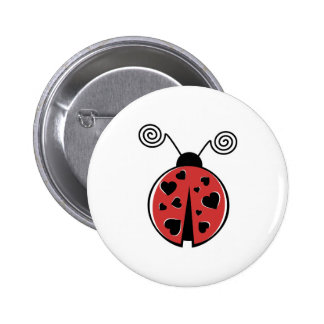 Love Bug Pinback Button