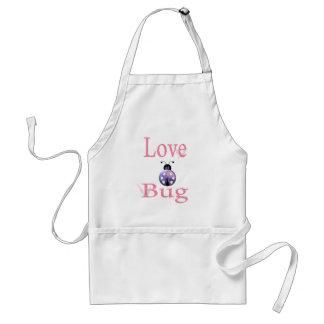 love bug purple aprons