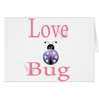 love bug purple card