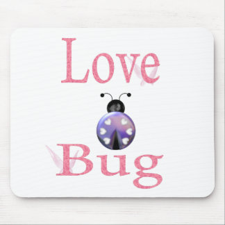 love bug purple mouse pad