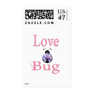love bug purple postage