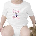 love bug purple rompers