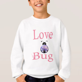 love bug purple sweatshirt