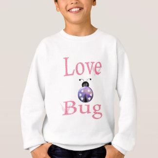 love bug purple sweatshirt