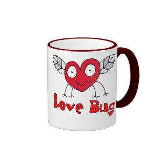 Love Bug T-shirts and Gifts Ringer Mug