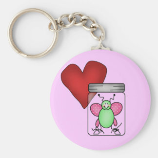 Love Bug Tshirts and Gifts Keychain