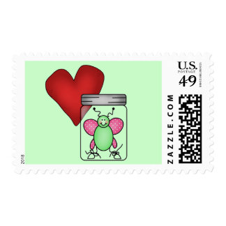 Love Bug Tshirts and Gifts Stamp