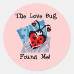 Love Bug Valentine Tshirts and Gifts Sticker