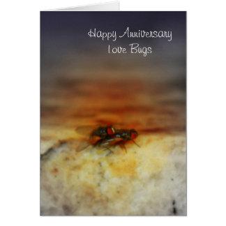 Love Bugs Anniversary Card