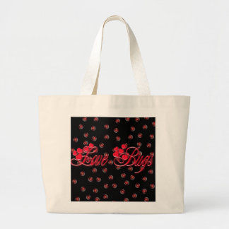 LOVE BUGS by SHARON SHARPE Tote Bag