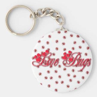 LOVE BUGS by SHARON SHARPE Keychain
