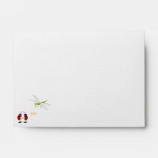 Love Bugs Envelope