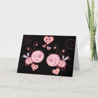 Love bugs! Greeting Card card