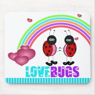 Love bugs Valentine's Day Mousepad