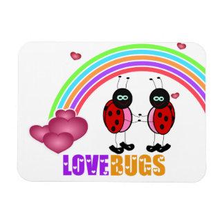 Love bugs Valentine's Day Premium Magnet
