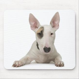Love Bull Terrier Puppy Dog Mousepad