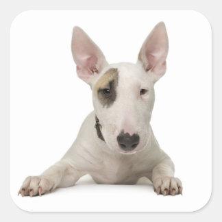 Love Bull Terrier Puppy Dog Sticker / Label