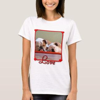 Love Bulldogs T-shirt
